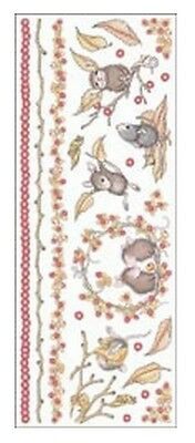 """House Mouse & Friends """"autumn Time"""" Stickers For Cards & Craft"""