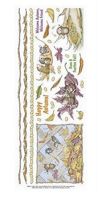 """House Mouse & Friends """"festive Fall"""" Stickers For Cards & Craft"""