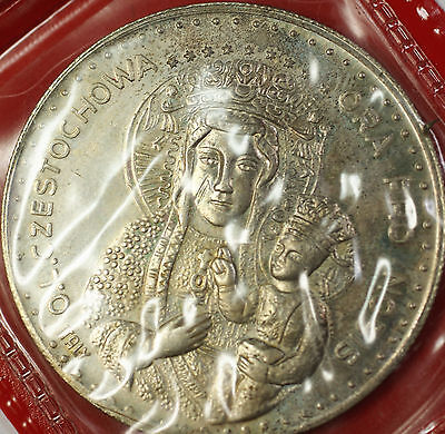 Pope John Paul The Second Vatican Uncirculated Maria Italy Silver Medal