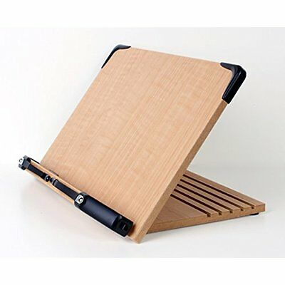 Wooden Book Stand Holder Display Portable Cookbook Document Music Bible Rack