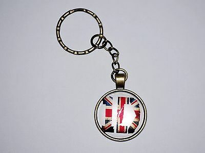 Llavero Metalico One Direction - Grupo Musical Ingles One Direction Keychain C39