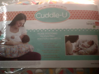 new Leachco Cuddle U Nursing Pillow Baby Support Pillow Baby Positioning Pillow