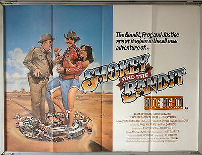 Cinema Poster: SMOKEY AND THE BANDIT RIDE AGAIN 1980 (Quad) Burt Reynolds
