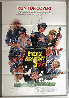 Cinema Poster: POLICE ACADEMY 3 BACK IN TRAINING 1985 (One Sheet)
