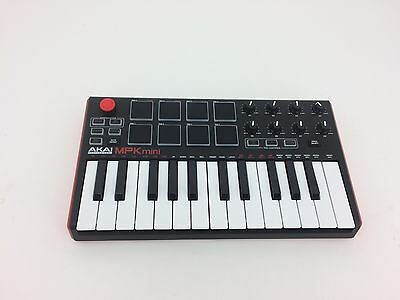 MPK Mini Compact Keyboard and Pad Controller by AKAI Professional