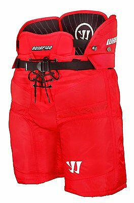 Warrior Bonafide XL Ice Hockey Shorts - Red