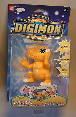 Manga / Anime Merchandise Digimon TALKING AGUMON Figur Bandai OVP