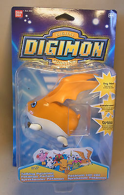 Manga / Anime Merchandise Digimon TALKING PATAMON Figur Bandai OVP