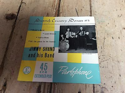 jimmy shand and his band-scottish country dance (no2)Parlophone e.P.