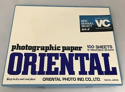 Oriental Photo Vc Seagull Select Fiber Based Paper  Nos Semi-Sealed
