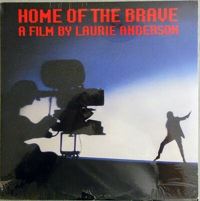NEW Laurie Anderson - Home of the Brave (Vinyl LP WB 9 25400-1) FREE SHIPPING