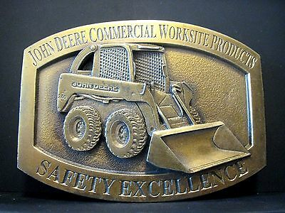 2001 John Deere 240 Skid Loader Commercial Safety Belt Buckle Limited Ed 483/615