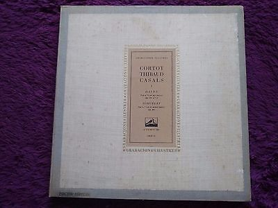 Cortot ‧ Thibaud ‧ Casals - Haydn ‧ Schubert , Box , Vinyl, LP, Spain , 1957
