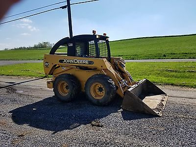 2002 John Deere 260 Skid Steer Loader Diesel Engine Hi-Flow Hydraulics 2 Speed