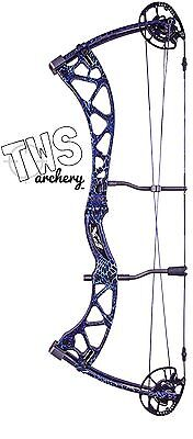 2017 Martin 50lb Purple Carbon Mist Compound Bow Package USA MADE Ladies Womens