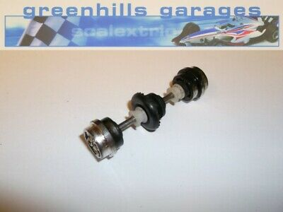 Greenhills Scalextric Ford Escort XR3i Rear Axle & Wheels – Chrome Used P1794