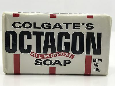 Colgate's Octagon soap 7oz Bar - New