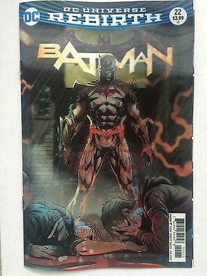 DC comics: BATMAN # 22 , LENTICULAR 3D COVER ,Rebirth, 1st print
