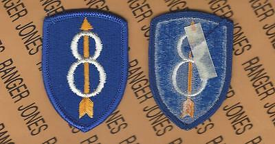 US Army 8th Infantry Division Pathfinders uniform patch m/e