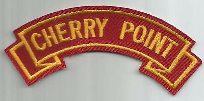 Marine Corps - Cherry Point - Shoulder Tab/Scroll