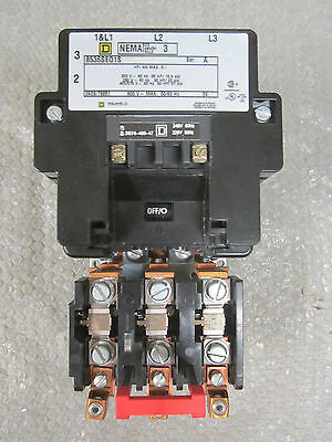 Square D 8536SE01S Contactor Module Ser A 50HP/37kW 200-230AC 460/575AC *NEW*