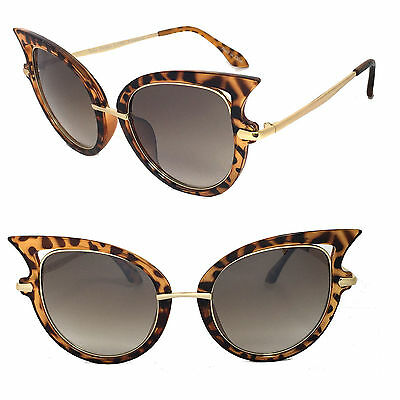 Wholesale Lot 12 Pairs Hot Fashion Woman Over Size Cat Eyes Sunglasses-C8020