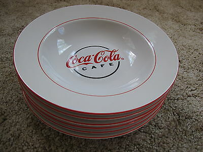 Coca Cola Cafe ~ Bowls by Gibson ~ 6 ceramic bowls