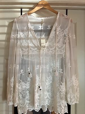 spell and the gypsy collective Ophelia Lace Blouse Size M BNWT