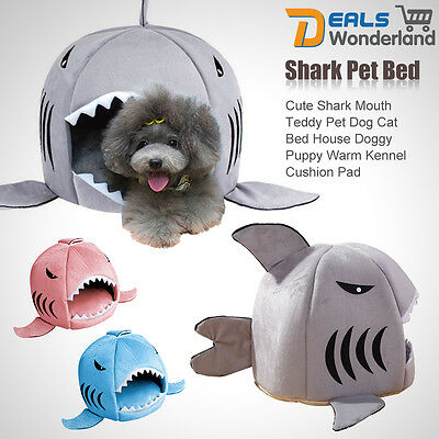 Creative Pet Products Warm Soft Dog House Pet Sleeping Bag Shark Dog Cat Bed