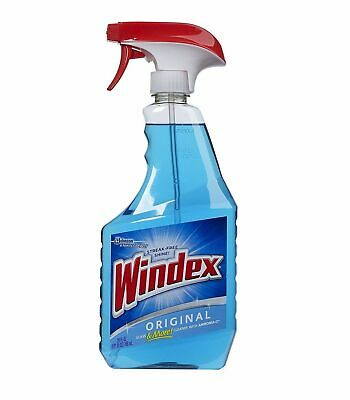 Windex Blue Trigger Spray Original Glass Cleaner (680ml) 23oz Window Cleaner