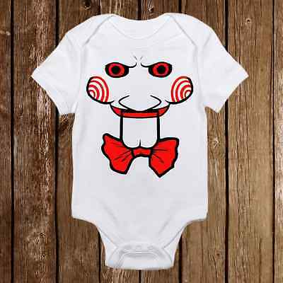db1edca1 Funny Baby Onesie - SAW jigsaw Inspired unisex baby clothes - Baby Shower  Gift