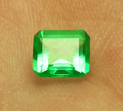 20% Off High-End 1.14 ct Natural Colombian Emerald Certified
