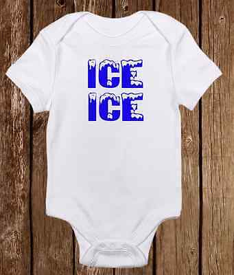 1ae65d1af Ice Ice Baby Onesie Funny Gerber unisex baby clothes - Baby Shower Gift Boy  Girl