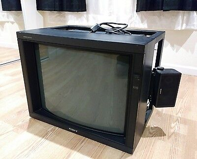SONY PVM 2530 PROFESSIONAL BROADCAST MONITOR Excellent for retro gaming
