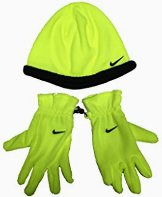 Nike Air Boys Or Girls Kids' Jordan Hat Beanie and Gloves Set Size 8-20