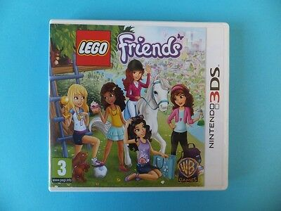 LEGO FRIENDS BOX ONLY Nintendo 3DS XL 2DS PAL UK