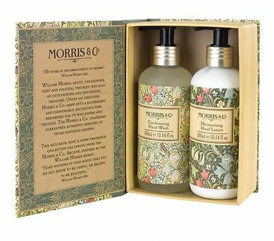 Morris and Co Golden Lily Hand Wash and Hand Lotion Duo