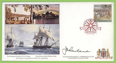 Australia 1988 Bicentennial Commemorative cover signed by the Governor