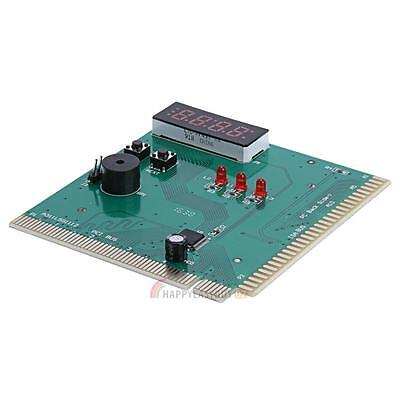 4-Digit Diagnostic Card Motherboard Analyzer Tester Detection For ISA/PCI Bus