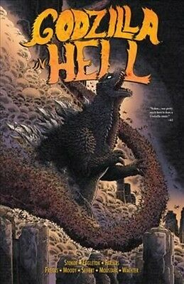 Godzilla in Hell by Ulises Farinas Paperback Book (English)