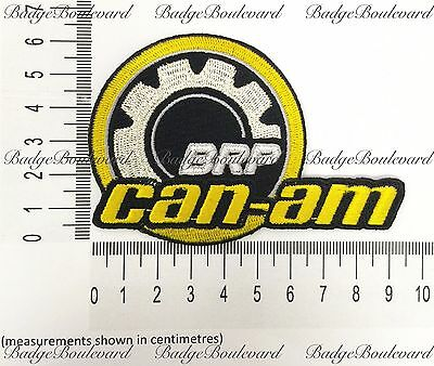 Can-am Canam BRP New Badge Embroidered Cloth Patch