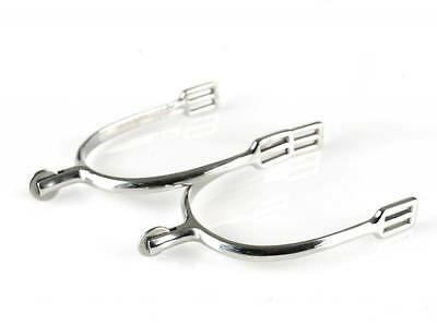 Horze spurs, Round Smooth Rowel size Ladies - Horse Riding