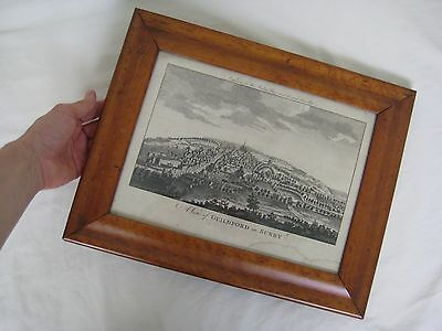 Antique Maple Wood Picture Frame 39/31cm