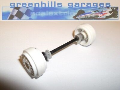 Greenhills Scalextric Peugeot 307 WRC No.5 Rear Axle & wheels C2560 P1789 Used