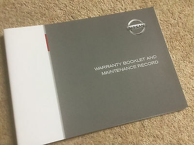 Brand New Nissan Service History Maintenance Record Book Blank Fast Post