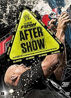 WWE - Best Of RAW - After The Show (DVD, 2014, 3-Disc Set) New  Region 4