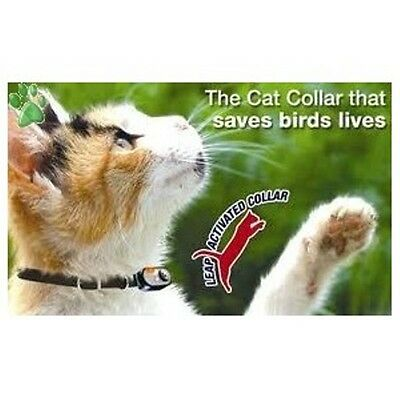 Wildlife Saving Cat Collar - Liberator - Loud Bells - Id Tags - Leap Activated