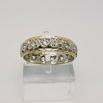 Vintage 9ct Gold Full Eternity Ring.  Goldmine Jewellers.