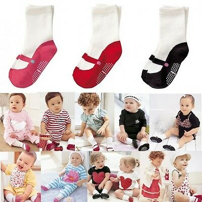 Shoes Newborn Crib Boots Anti-slip Cotton Baby Floor Socks
