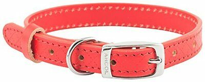 Ancol Heritage Diamond Dog Collar X-Small/Medium/Large/Small Black/Brown/Red